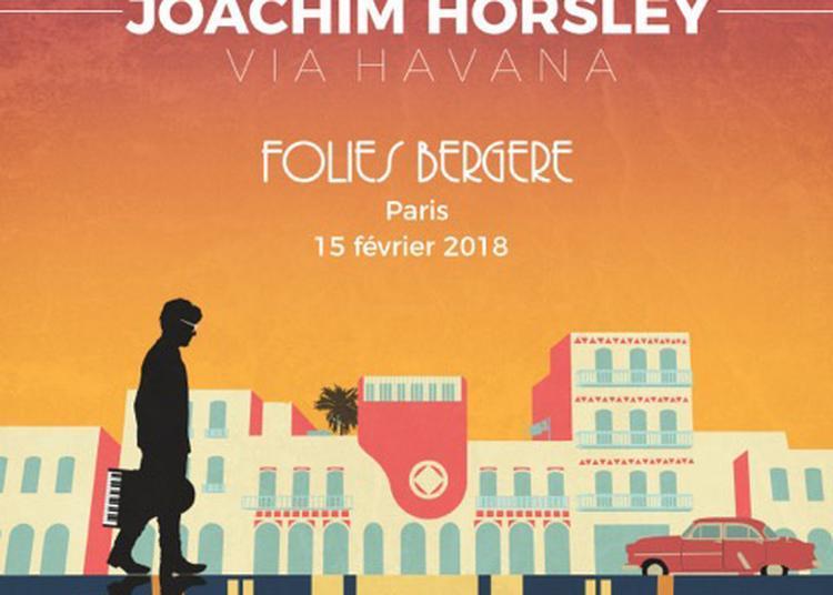 Joachim Horsley à Paris 9ème