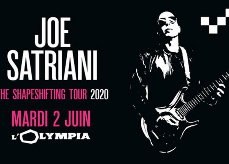 Joe Satriani à Paris 9ème