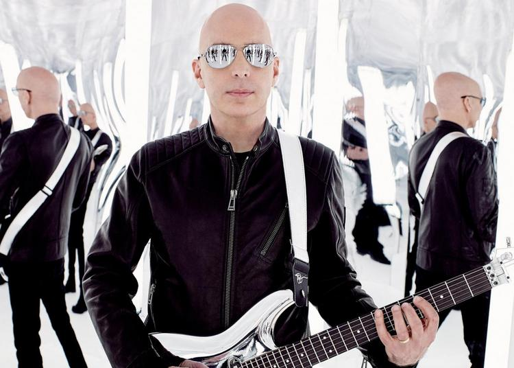 Joe Satriani - report à Nantes