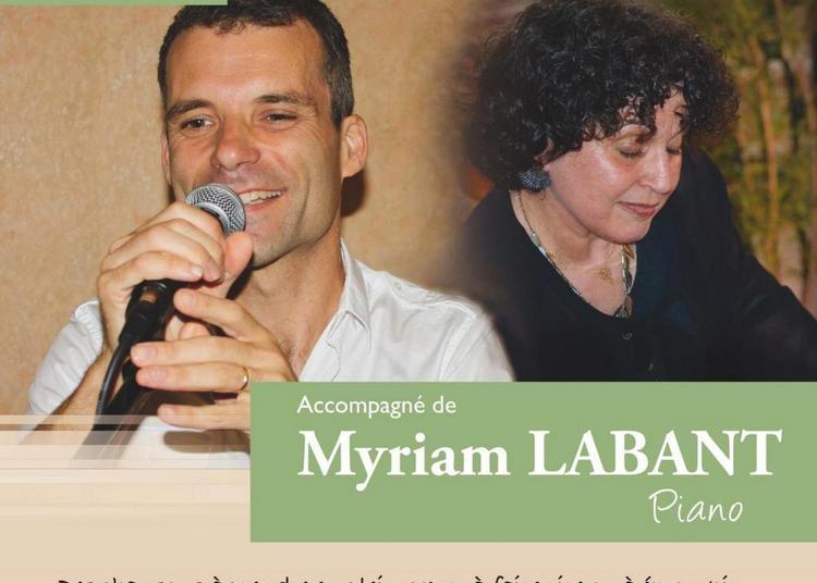 Joël Dahan / Myriam Labant - Concert Piano Voix à Jacou