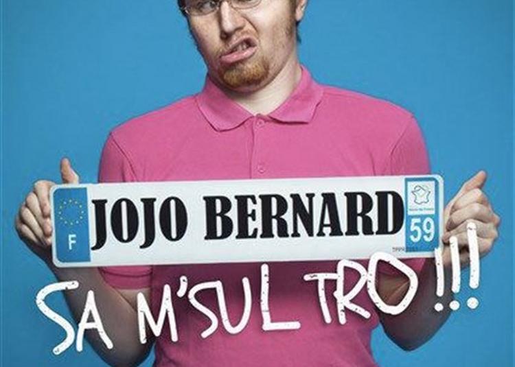 Jojo Bernard Dans Sa M'Sul Trooo ! à Marseille