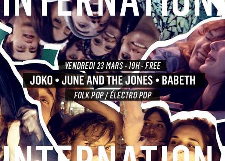 JOKO - June and the Jones - Babeth à Paris 11ème