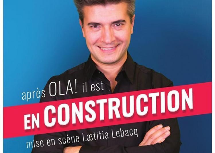 José Cruz Dans En Construction à Thorigny sur Marne
