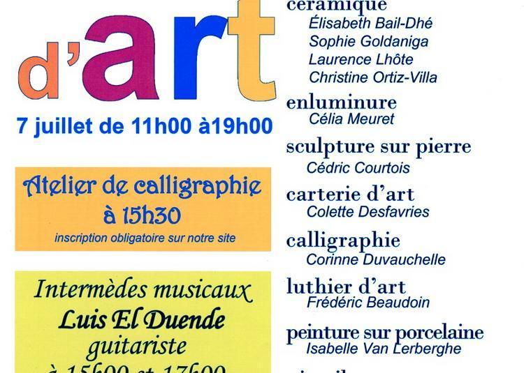 Journée des Métiers d'art à Saint Martin aux Bois