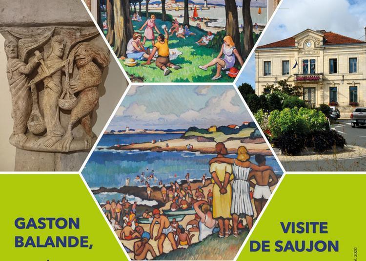 Visites Guidées : Gaston Balande   Visite de Saujon