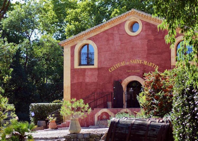 Journée du Patrimoine au Château de Saint Martin (Var) à Taradeau