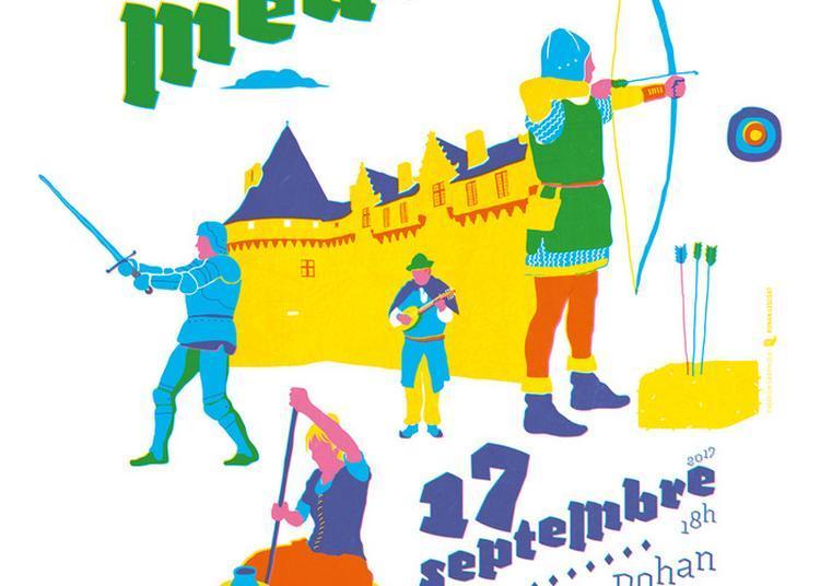 Journée Médiévale Dans Les Douves Du Château Des Rohan À Pontivy