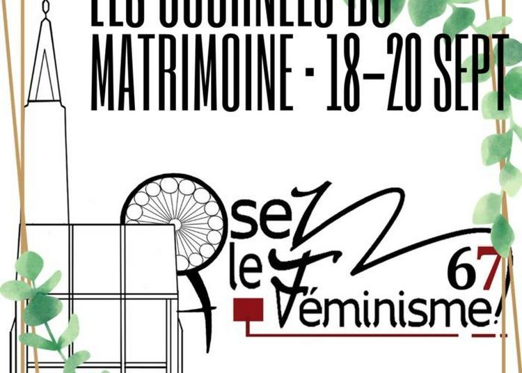 Journées Du Matrimoine : À La Découverte Des Femmes Alsaciennes à Strasbourg