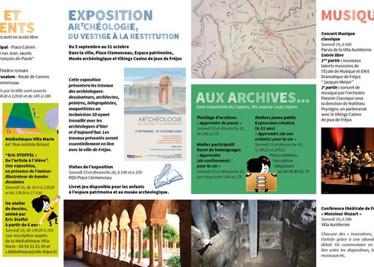 Journées Du Patrimoine à Fréjus à Frejus