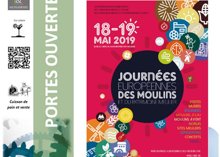 Journées européennes des moulins et du patrimoine meunier à Saint Pierre sur Erve