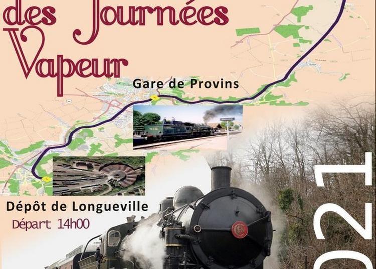 Journées Vapeur 2021 - Train Spécial à Longueville