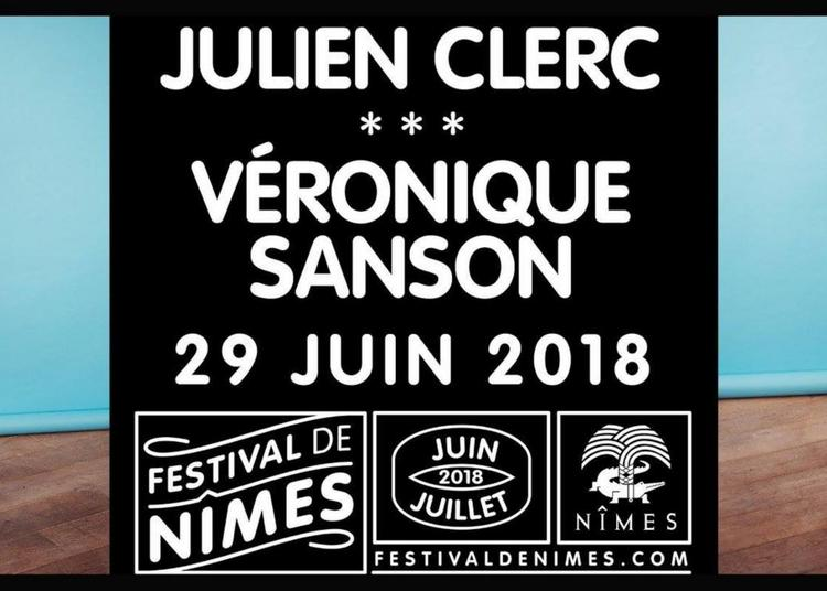 Julien Clerc + Veronique Sanson à Nimes