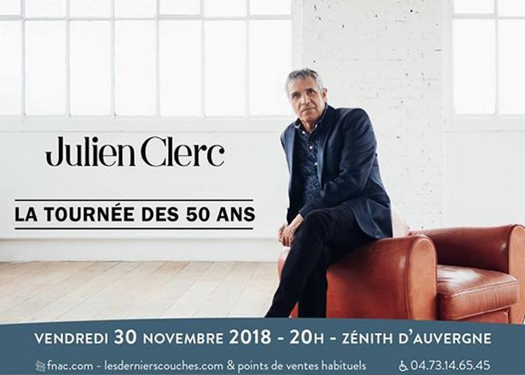 Julien Clerc à Clermont Ferrand