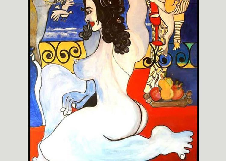 Juliette Bart à la Galerie 3f à Montmartre à Paris 18ème