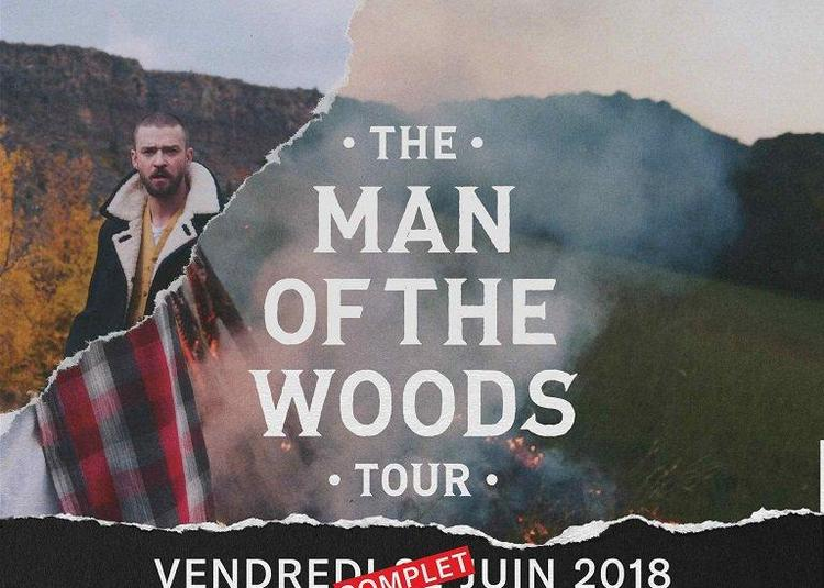 Justin Timberlake - The Man of the Woods Tour à Paris 12ème