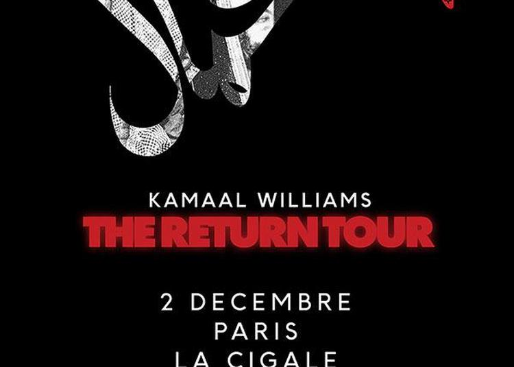 Kamaal Williams à Paris 18ème