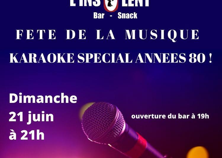 Karaoké special année 80 à Lorient