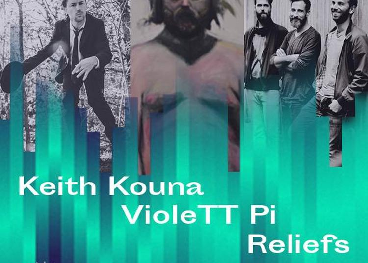 Keith Kouna + Violett Pi + Reliefs à Paris 13ème
