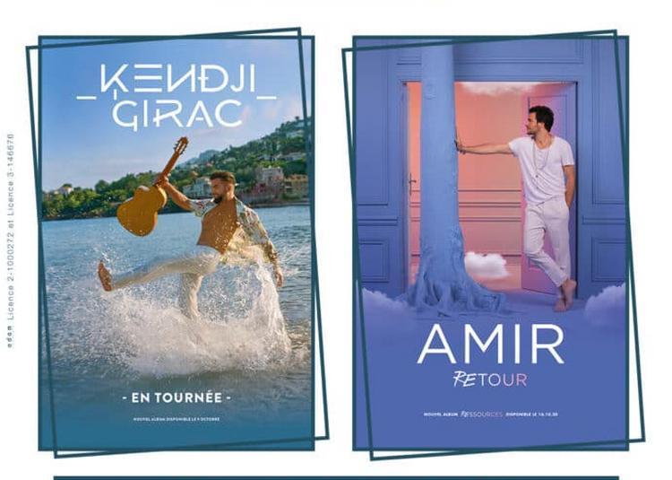 Kendji Girac et Amir à Nimes
