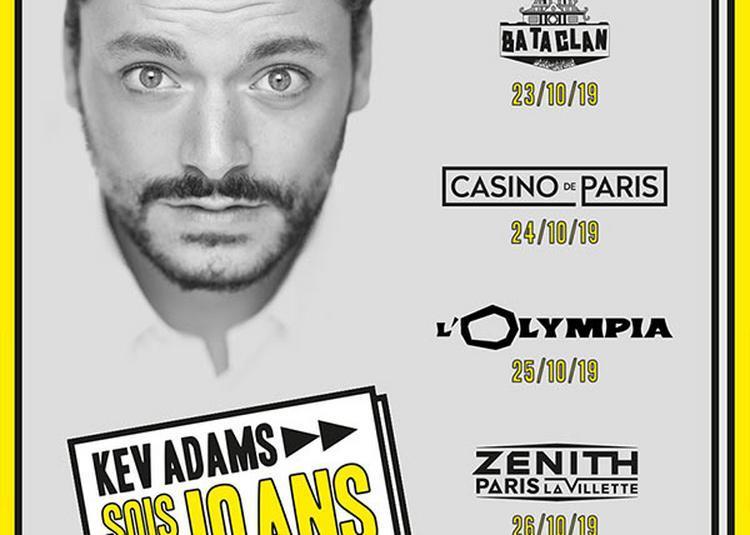 Kev Adams à Paris 19ème