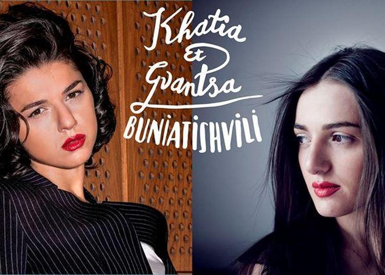 Khatia Et Gvantsa Buniatishvili à Montpellier