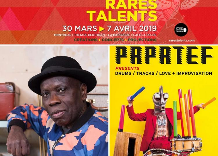 Kiala &The Afroblaster guest Fab Smith et Papatef aka Cyril Atef :: Festival Rares Talents #8 à Montreuil