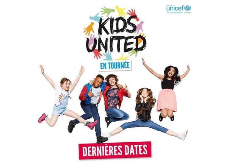 Kids United Nouvelle Generation à Macon