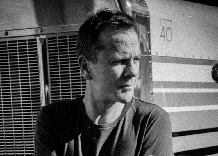 Kiefer Sutherland à Paris 11ème
