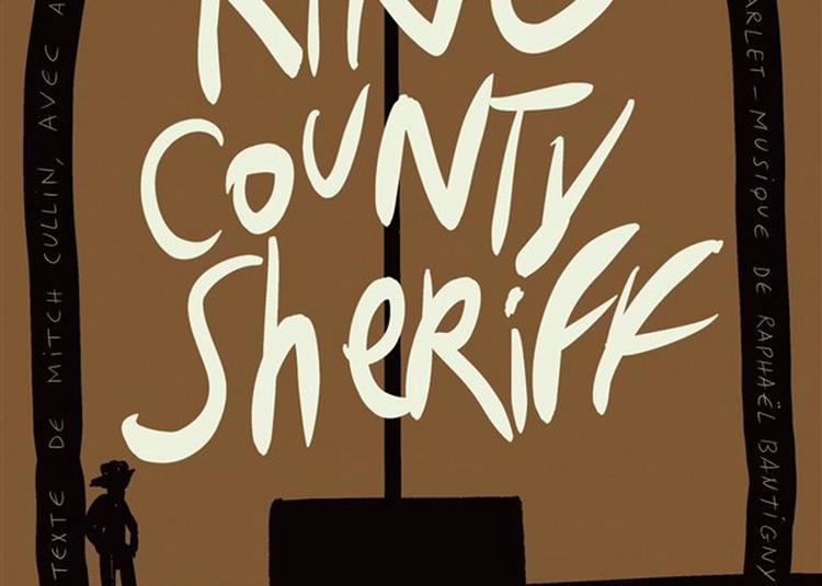 King County Sheriff à Paris 20ème