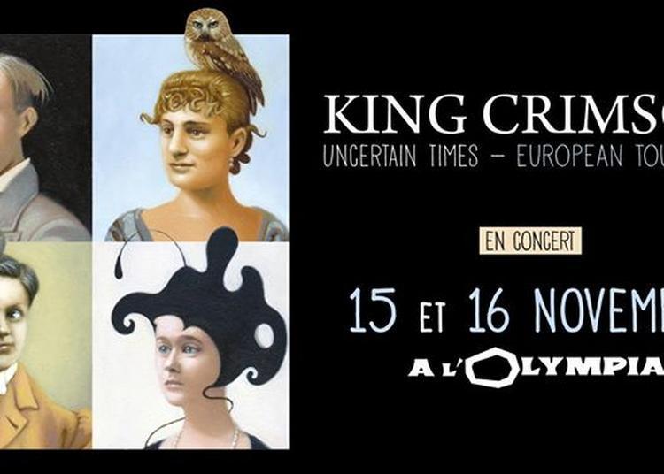 King Crimson à Paris 9ème
