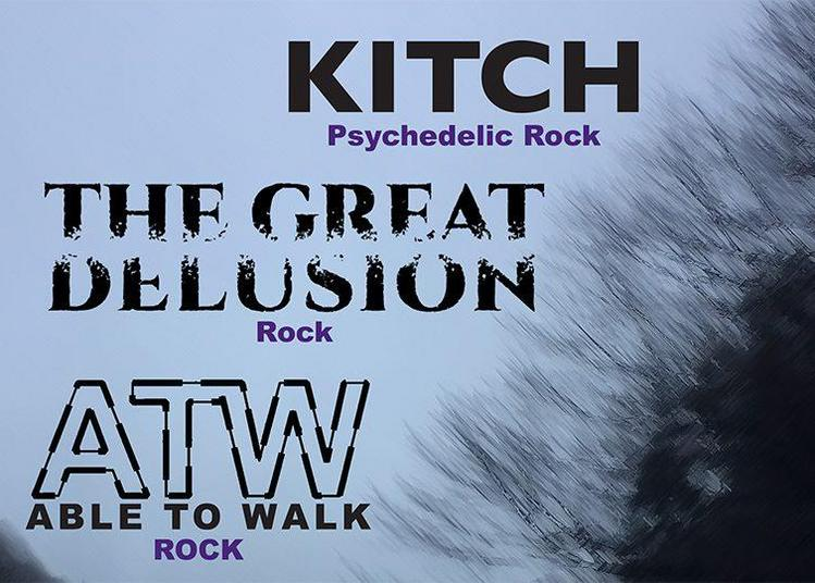 Kitch, Able To Walk et The Great Delusion à Villeurbanne