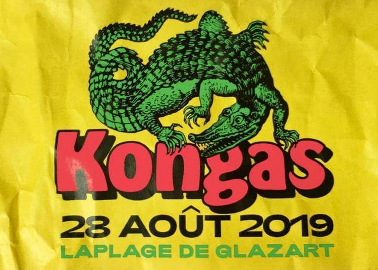 Kongas À Laplage à Paris 19ème