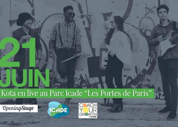 KOTA en live au Parc Icad à Aubervilliers