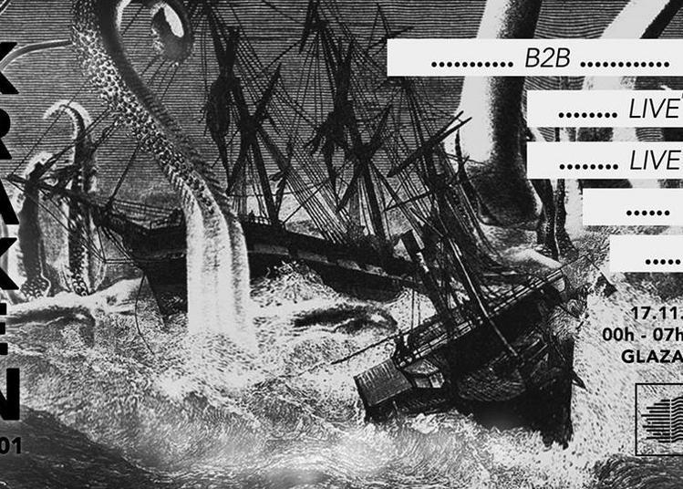 Kraken #001 By Rive Droite Records à Paris 19ème