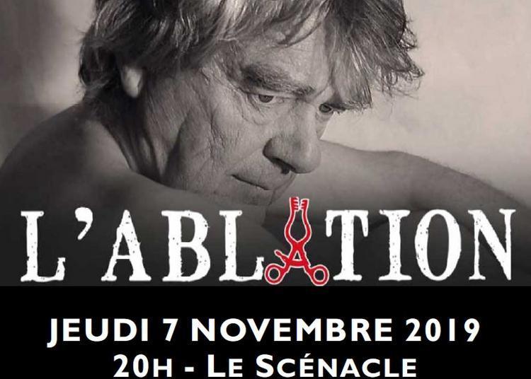 L'Ablation - Adpatation théâtrale du roman de Tahar Ben Jelloun à Besancon