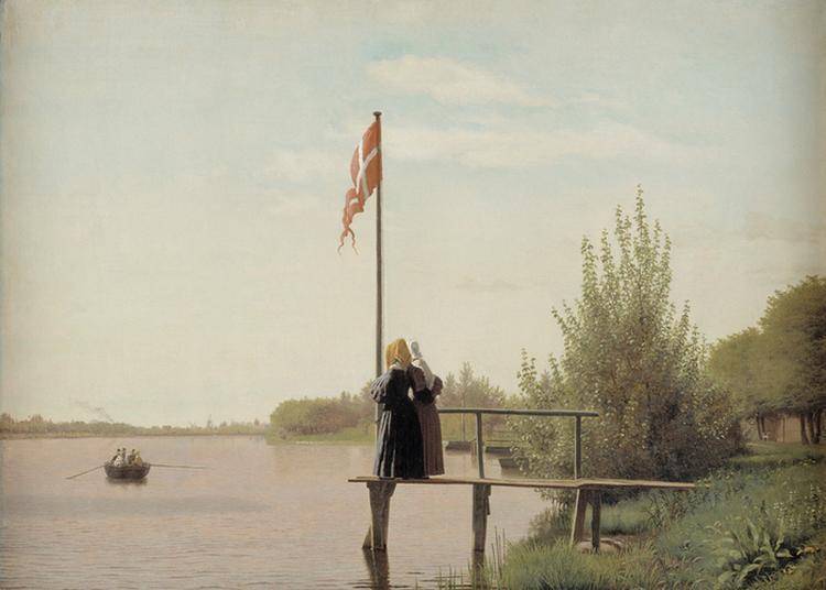 L'âge D'or De La Peinture Danoise (1801-1864) à Paris 8ème