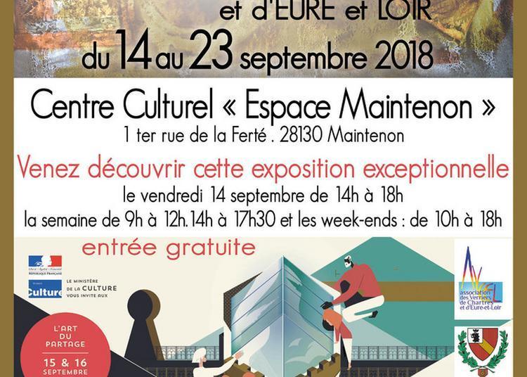 L'art En Partage Par Les Maîtres Verriers De Chartres Et D'eure-et-loir à Maintenon