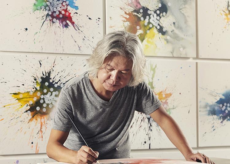 L'artiste Coréen Park Dong Soo À Paris à Paris 7ème