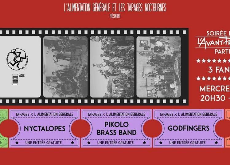 L'Avant-PremiÈre 3/4 Nyctalopes X Pikolo X Godfingers à Paris 11ème