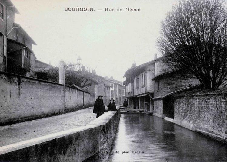 L'eau À L'origine Du Développement Industriel : Le Canal Mouturier à Bourgoin Jallieu