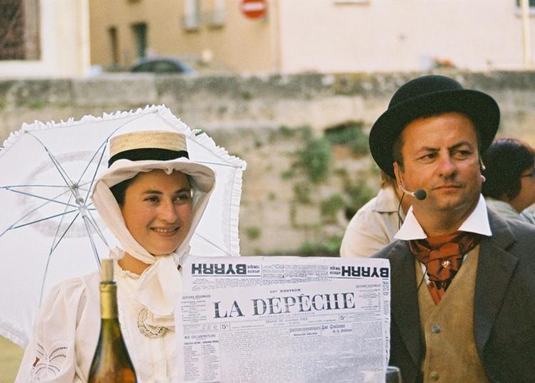 L'écho De La Robine, Café Imaginaire - Sur Les Traces De Gaston Baissette à Mauguio