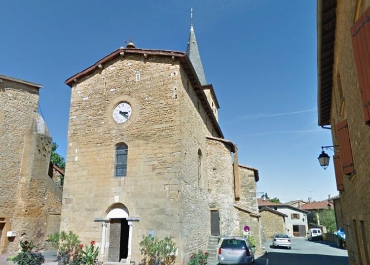 L'église, Son Environnement Et Son Saint Patron à Frontenas