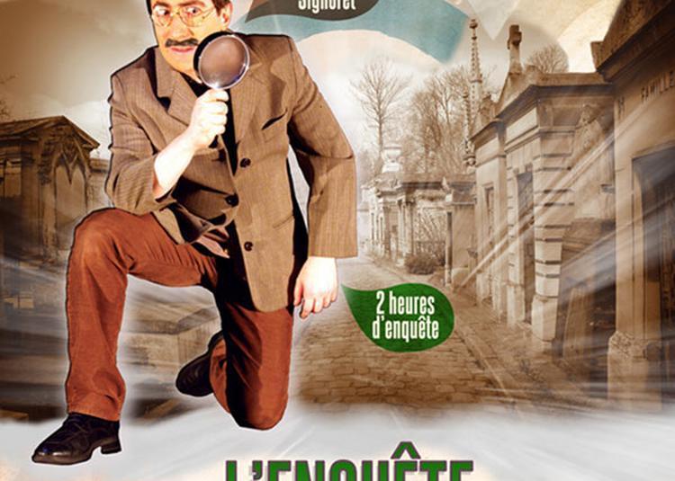 L'Enquete Du Père-Lachaise à Paris 20ème