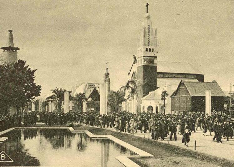 L'exposition coloniale internationale de Paris, 1931 à Mont de Marsan