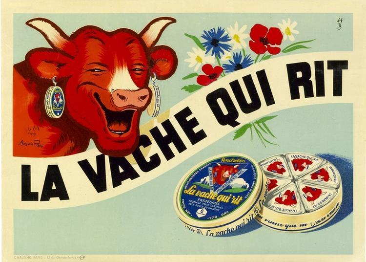 L'histoire De La Vache Qui Rit à Lons le Saunier