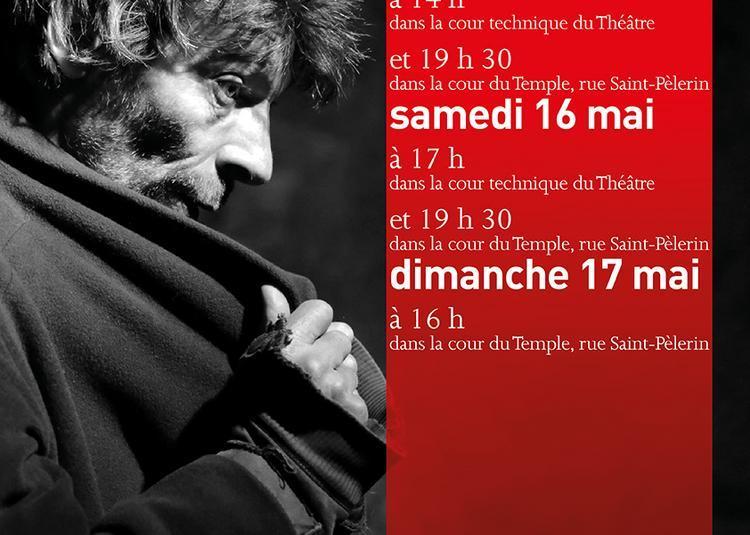 L'homme seul à Auxerre
