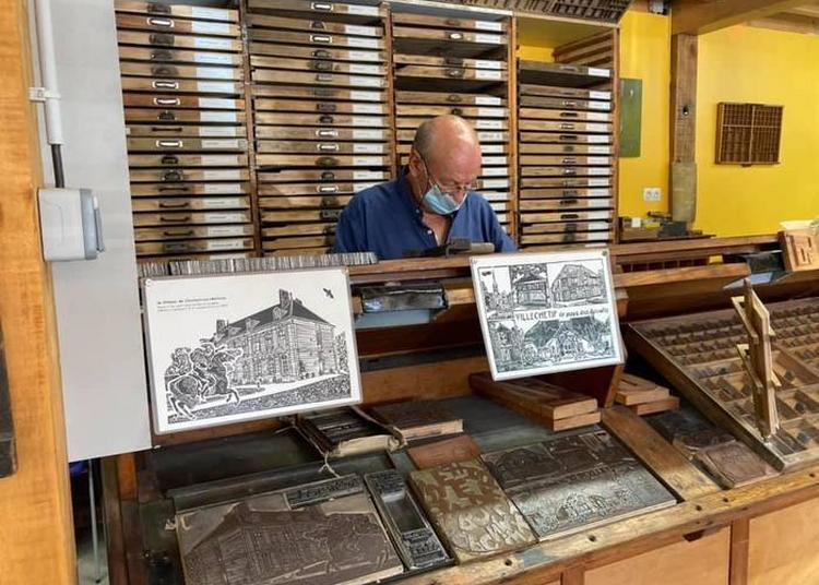 L'imprimerie à Travers Les âges à Charmont Sous Barbuise