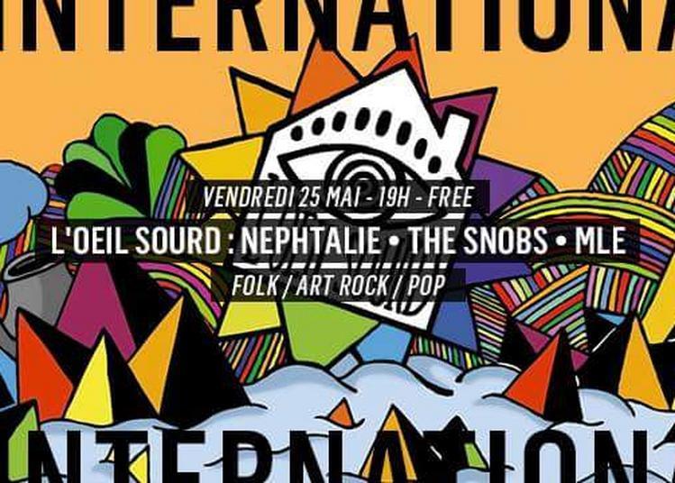 L'oeil Sourd : Nephtalie - The Snobs - Mle à Paris 11ème