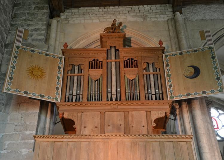 L'orgue Renaissance 1568 à Saint Julien du Sault