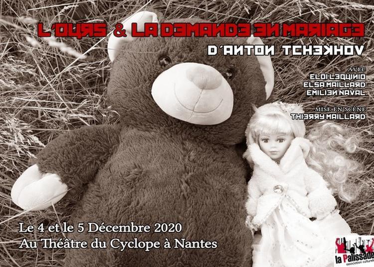 L'ours & la demande en mariage à Nantes